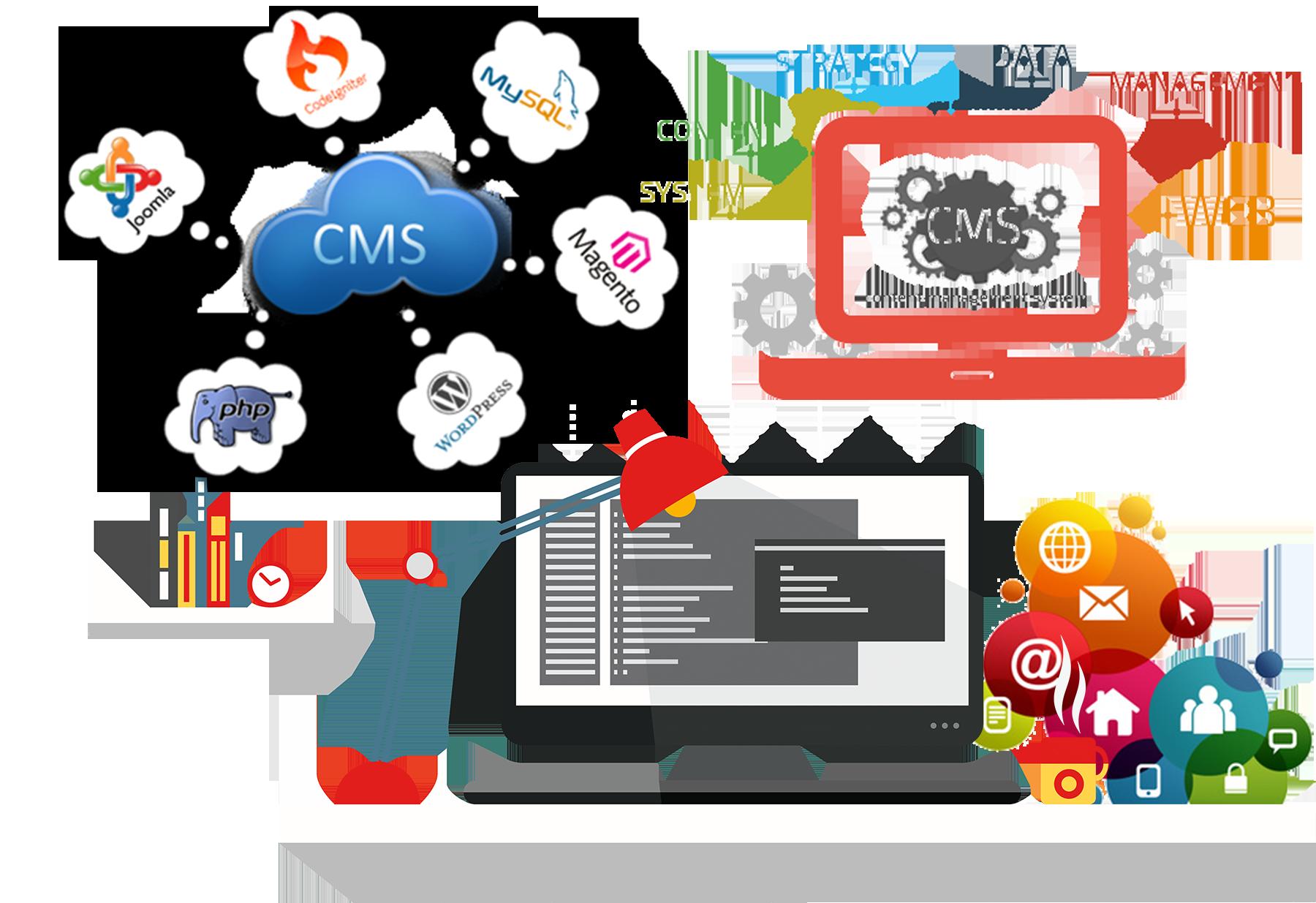Выбрать движок для создания сайта 8 этапов создания сайта